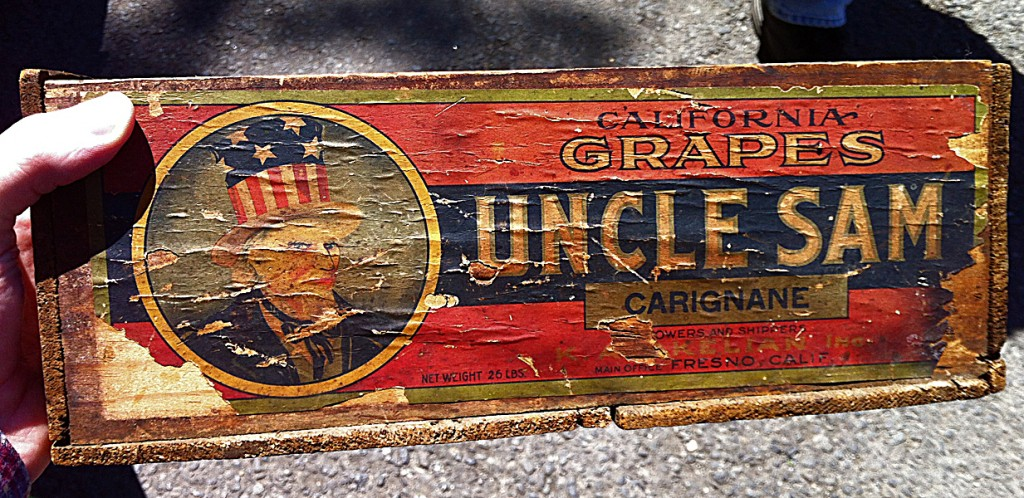 Turn-of-the-Century Uncle Sam Wine Box